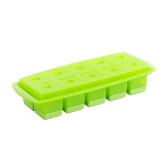 Bac à glaçons et plateau vert