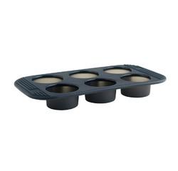 Achat en ligne Moule à 6 muffins ou cupcakes en silicone 17x33cm