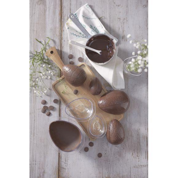 Stampo per 3 uova di cioccolato