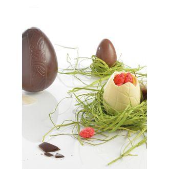 MASTRAD - Moule à chocolats 3 œufs en plastique transparent