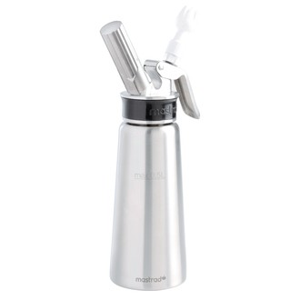 MASTRAD - Siphon professionnel en inox pour chaud et froid 0,5L