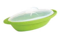 Achat en ligne Papillotte minute silicone vert taille moyenne