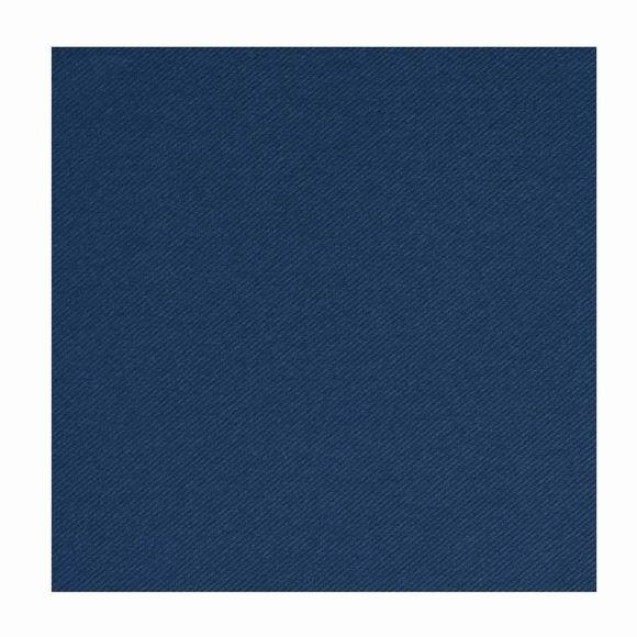Achat en ligne 50 serviettes 40x40cm intissées unies bleu marine