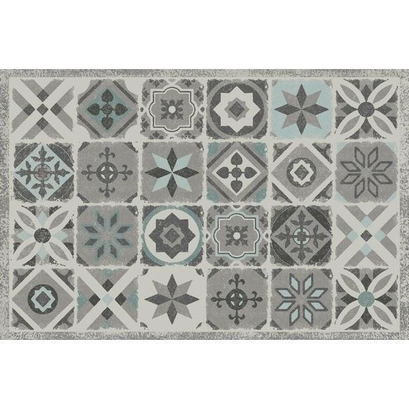tapis carreaux de ciment 90x60cm assortis pas cher z dio. Black Bedroom Furniture Sets. Home Design Ideas