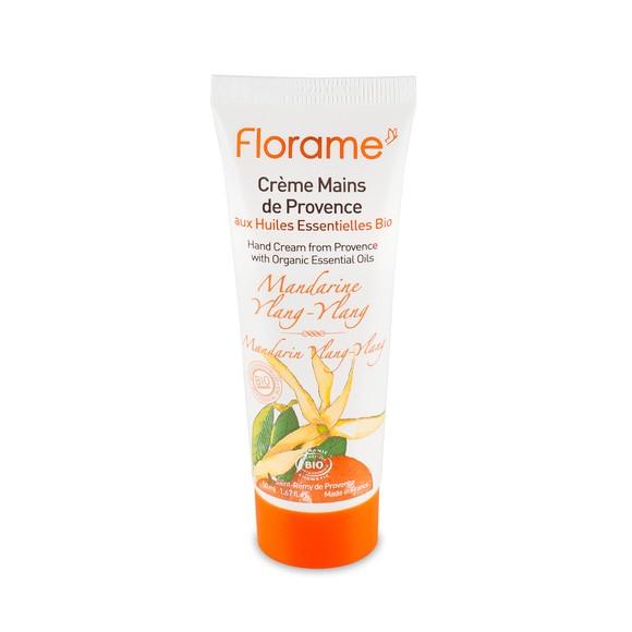 Achat en ligne Crème pour les mains bio à la mandarine et ylang 50ml