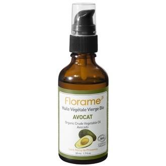 FLORAME - Huile végétale bio Avocat - 50ml