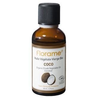 FLORAME - Huile végétale bio Coco - 50 ml