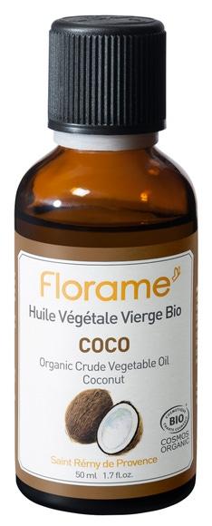 Achat en ligne Huile végétale bio Coco 50 ml