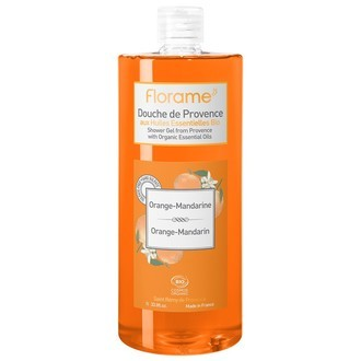 FLORAME - Gel douche Bio Cosmos orange-mandarine 1L