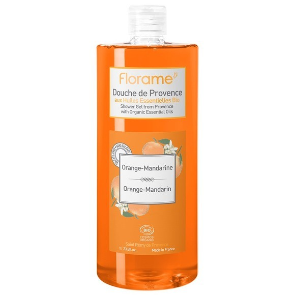 Gel douche Bio Cosmos orange-mandarine 1L