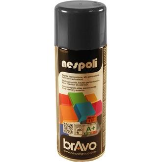 NESPOLI - Peinture professionnelle aérosol gris anthracite en spray 400 ml