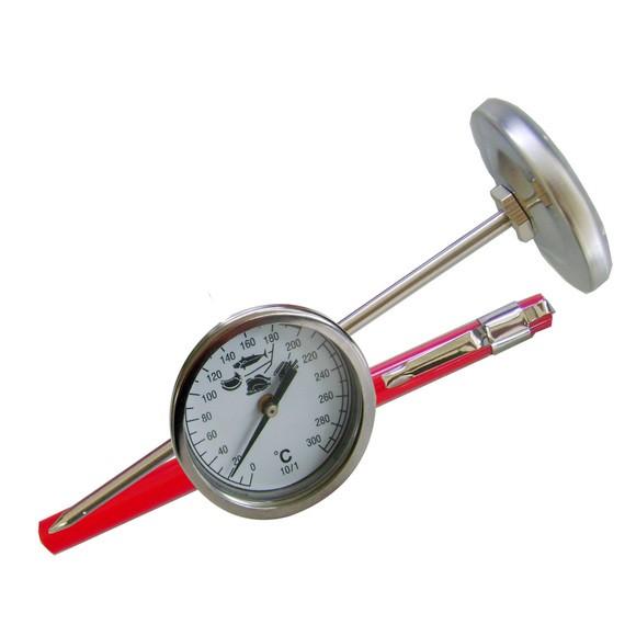 Termometro per fritti da 0° a 300°C
