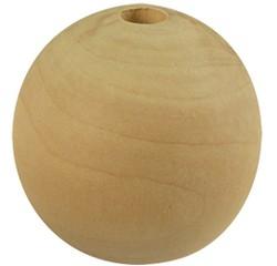 compra en línea Pack de de 100 cuentas de madera natural (Ø2 mm)