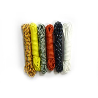 Set de 6 bobines de corde nylon passion creacord 6x3m