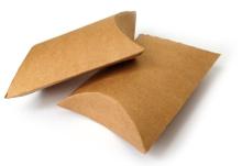 Achat en ligne Lot de 6 boîtes cadeaux berlingots en kraft 7,7x12,3cm