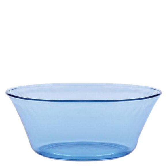 acquista online Insalatiera in vetro, azzurro  Ø17 cm