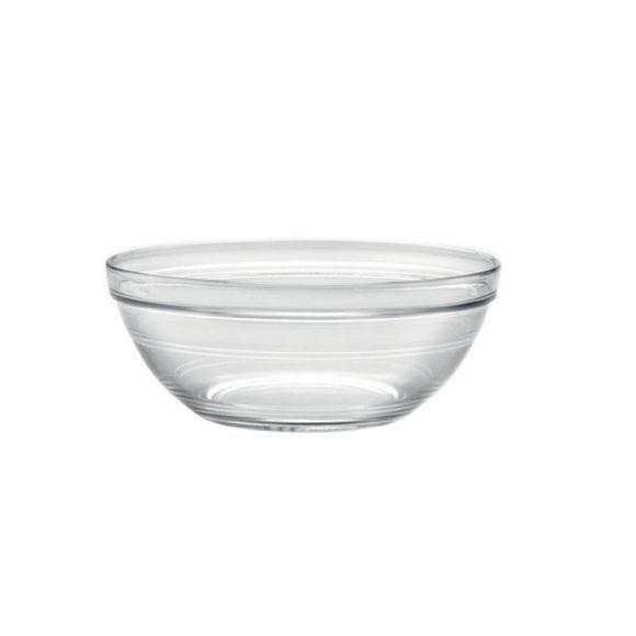 compra en línea Ensaladera de cristal transparente apilable Lys (Ø31 cm)