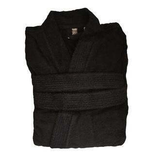 dd2158800ce808 ZODIO - Peignoir en coton éponge réglisse Taille XXL