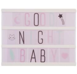 compra en línea Caja de luz de colores con letras + emojis A5 Lightbox