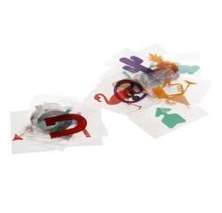 acquista online 100 lettere e simboli a colori o in bianco e nero per lightbox