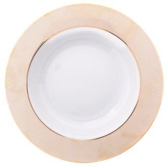Assiette plate alma or 27cm