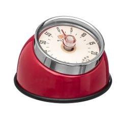 Achat en ligne Minuteur retro magnet rouge