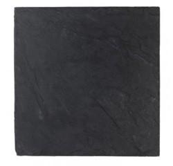 Achat en ligne Assiette carrée ardoise 25x25cm
