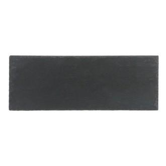 Assiette rectangulaire ardoise 11x30cm