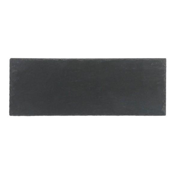Achat en ligne Assiette rectangulaire ardoise 11x30cm