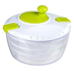 compra en línea Centrifugadora de ensalada con clips blanca 5Five