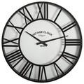 Horloge vintage clock noir 35cm