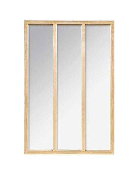 Achat en ligne Miroir atelier bois 76x116cm