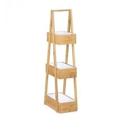 acquista online Mobile da bagno 3 livelli in bamboo, h: 82cm