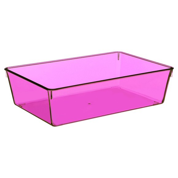 Organiseur de tiroir transparent grand modèle