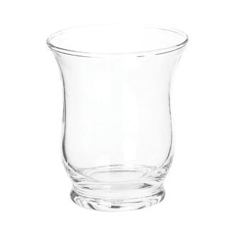Photophore évasé en verre