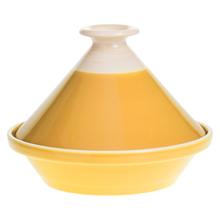 Achat en ligne Plat à tajine Sofia moutarde 27 cm