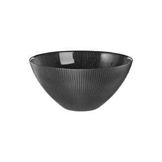 Saladier Jem noir 30cm verre