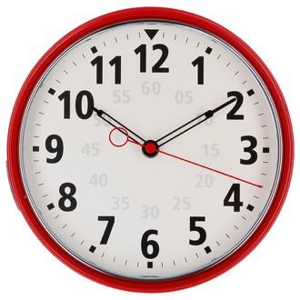 Horloge Met niki rouge 22,50cm