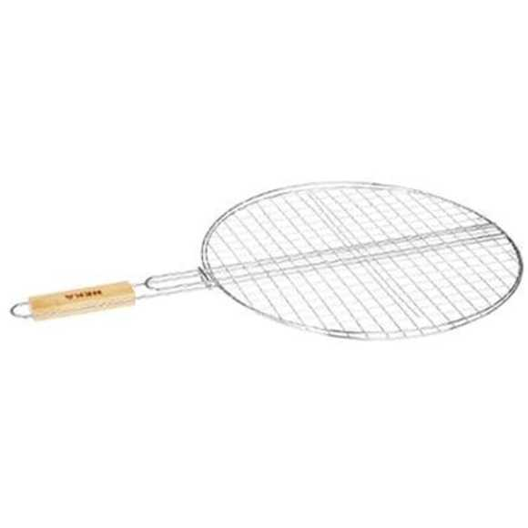 Grille ronde pour barbecue