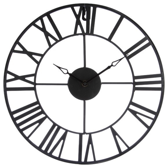 Achat en ligne Horloge métal vintage 36cm