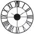 Horloge métal vintage 36cm