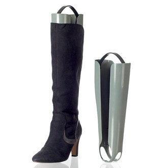 Embauchoir pour bottes en plastique gris 30,5cm