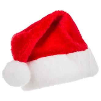 Bonnet Père-Noël rouge