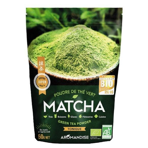 Poudre de thé vert bio Matcha Origine japon 50g