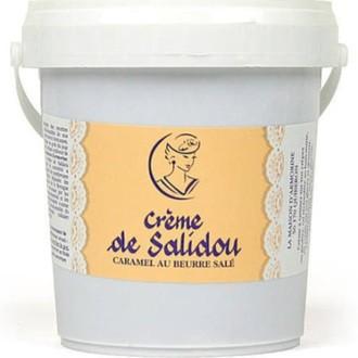 Crème de caramel au beurre salé salidou en pot 1kg