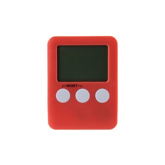 Minuteur électronique aimanté rouge