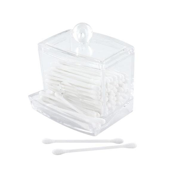 Achat en ligne Distributeur de coton tige en acrylique