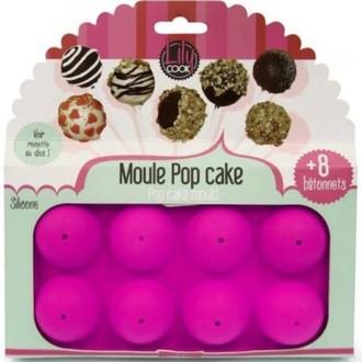 Moule pour 8 popcakes en silicone