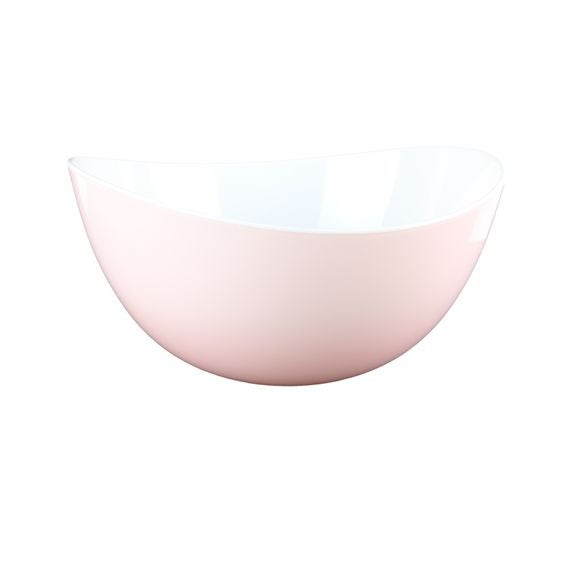 Insalatiera in plastica rosa Ø 23cm