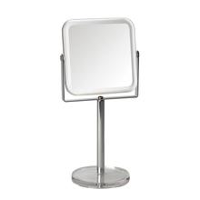 Achat en ligne Miroir grossissant carré à poser transparent double face X7